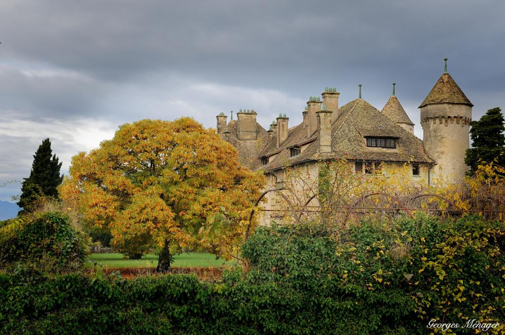 chateau de Ripaille par Georges Ménager - Contruisez-vous un château ou simplement un mur de pierres