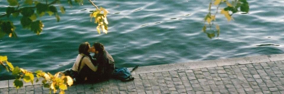 Couple au bord de la Seine Large  photo par Alexandre Lung