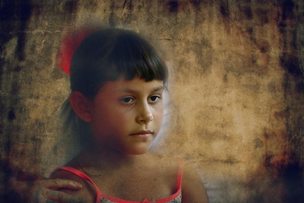 jeune fille triste photo par A-mer