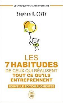 les 7 habitude 223x360 - 9 simples et bonnes habitudes pour un succès exceptionnel