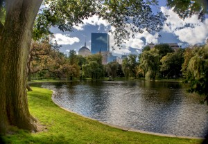 Boston - Les derniers jours chauds large par Werner kunz