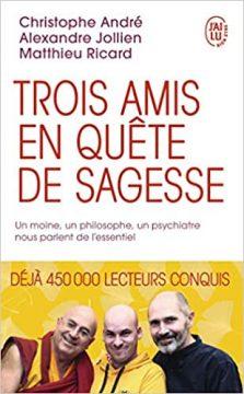 TROIS AMIS EN QUETE DE SAGESSE 223x360 - Comment arrêter l'inquiétude en 9 simples habitudes à prendre