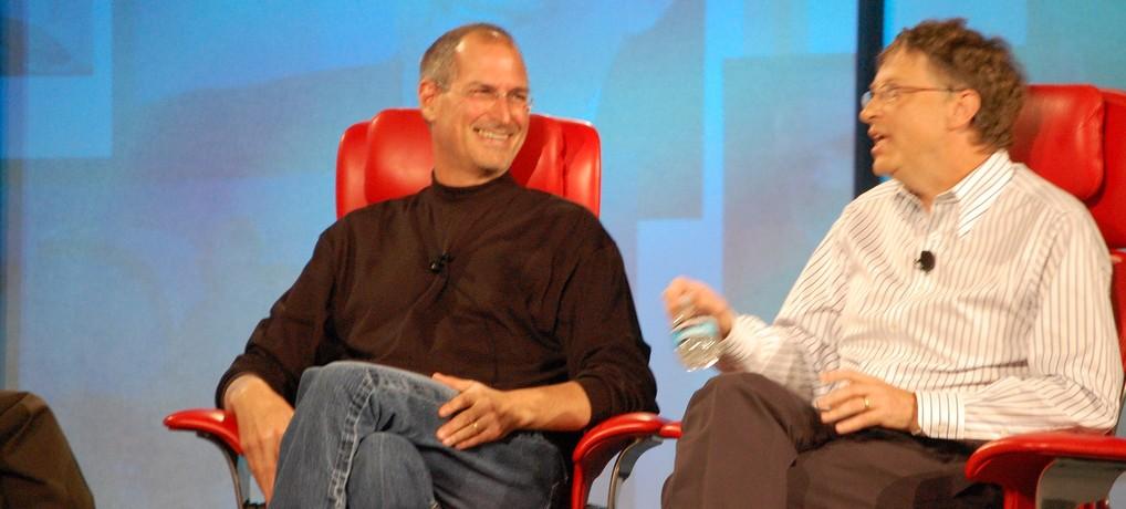 Steve Jobs and Bill Gates 2 photo par David and Jennifer e1425494505488 - 9 bonnes habitudes pour un énorme succès