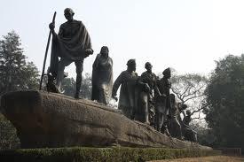 Gandhi marche du sel index - Mahatma Gandhi Biographie