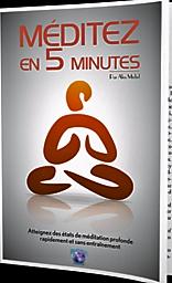 image meditez en 5 mn - Méditez en 5 minutes sans efforts